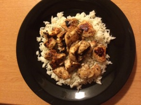 Seared Balsamic Chicken with Jasmine Rice