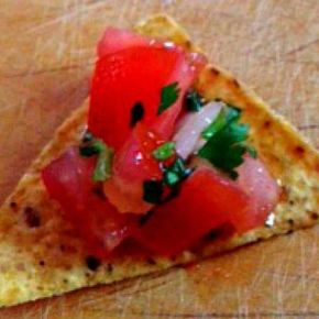 Easy Summer Salsa Fresca
