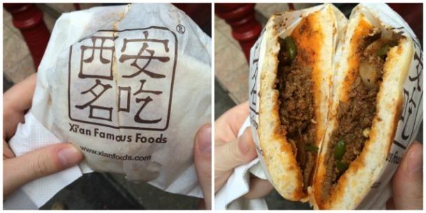 Cumin Lamb Burger