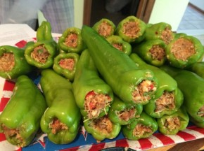 Ken's Hot Stuffed Cubanelle Peppers