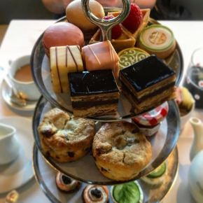 Afternoon Tea Fit for a Queen at BG Restaurant